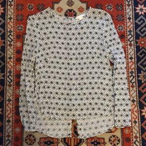 H&M Button Back Blouse